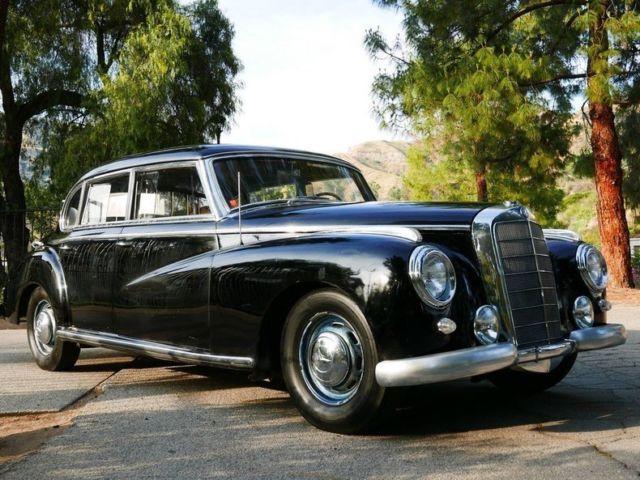 1953 mercedes benz adenauer 4 door sedan for sale for 1953 mercedes benz