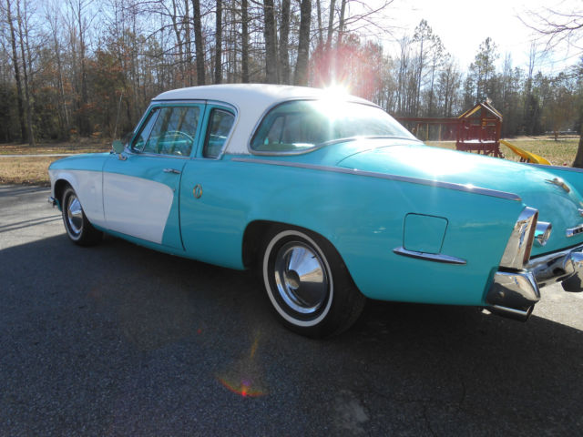 1953 studebaker champion coupe with 327 v 8 for sale - 1953 studebaker champion starlight coupe ...