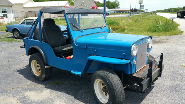 1953 willys jeep cj3b for sale willys 1953 for sale in valparaiso indiana united states. Black Bedroom Furniture Sets. Home Design Ideas