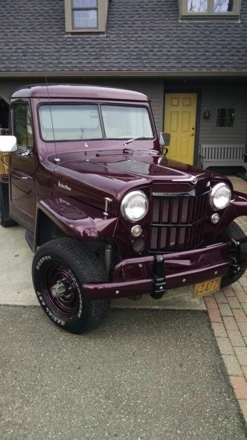 1953 Willys PICKUP Stake body-FRAME OFF RESTORATION ...
