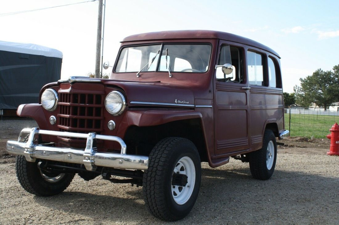1953 Willys Wagon 4 Wheel Drive Must See For Sale Willys 1953 For Sale In Ontario Oregon United States
