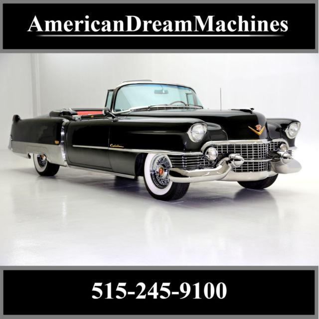 1954 Cadillac Eldorado Convertible With New Interior For