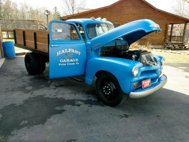 1954 chevrolet 3800 1 ton dump truck for sale chevrolet