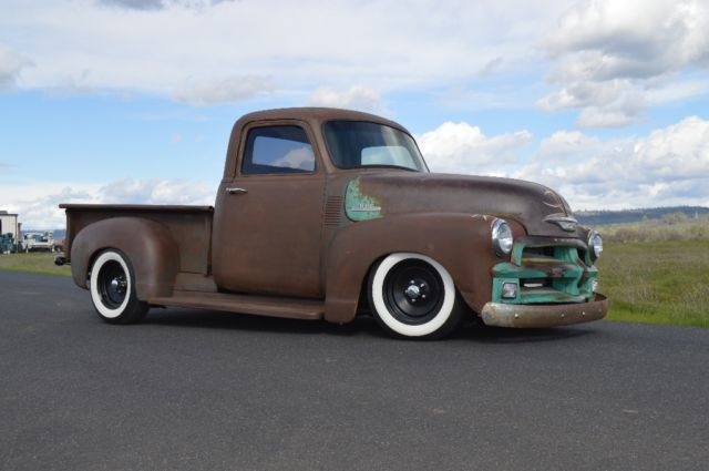 1954 Chevy Truck 3100 Patina Shop Truck Chevrolet For Sale