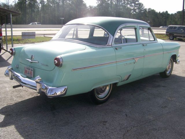 1954 ford crestline 4 door original super rare factory p w