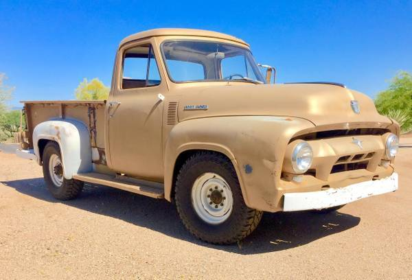 1954 ford f250 classic pick up truck rat rod restore patina muscle 3 4 ton chevy for sale ford. Black Bedroom Furniture Sets. Home Design Ideas