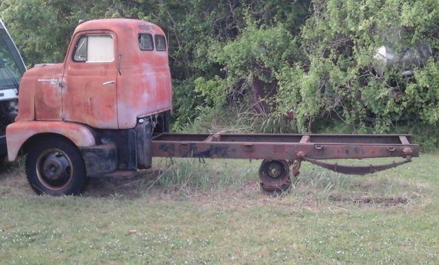 1954 International R-160 Series Cabover Truck Street Rod