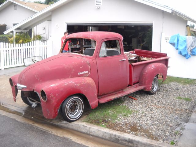 1954 truck pickup 5 window california chevy 3100 shortbed for 1954 chevy truck 5 window for sale