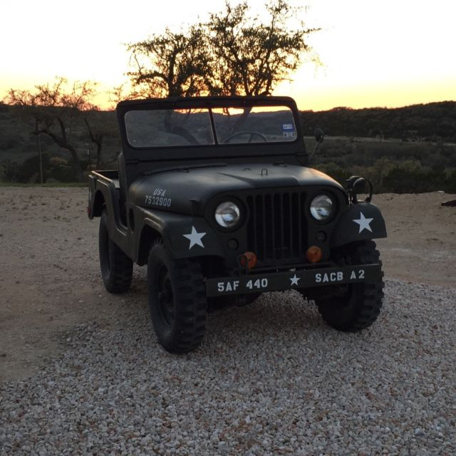 1954 Willys M38A1 Military Jeep For Sale