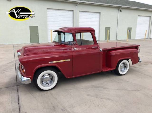 1955 3100 big window auto v8 zz4 sub framed ps pdb 1956 for 1955 chevy big window for sale