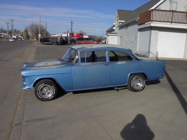 1955 55 Chevy Chevrolet 150 210 Belair Two Lane Blacktop