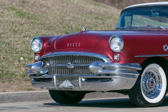 1955 buick century 2 door hardtop all new interior for 1955 buick century 2 door