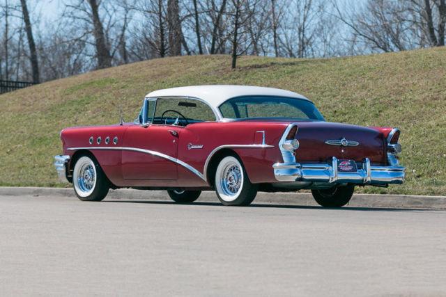1955 buick century 2 door hardtop all new interior for 1955 buick 2 door hardtop