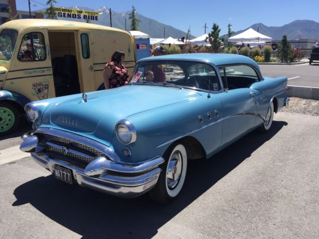 1955 buick special 2 door ht no reserve dealer installed for 1955 buick special 4 door for sale