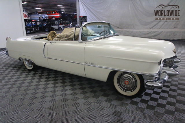 1955 cadillac convertible project restored almost. Black Bedroom Furniture Sets. Home Design Ideas