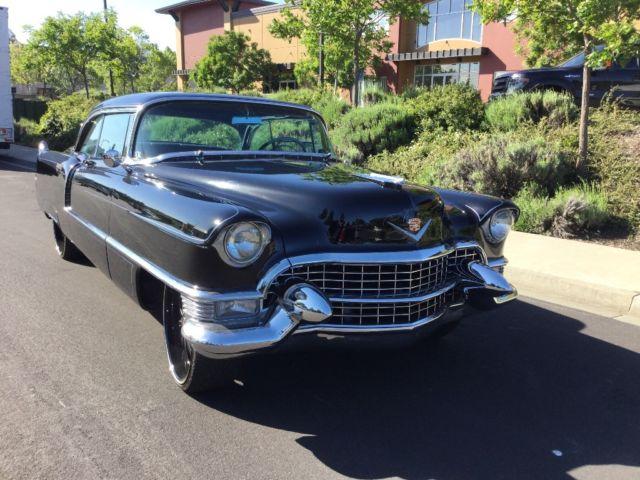 1955 Cadillac Coupe Deville California Black Beauty Must See For Sale Cadillac Deville 1955 For Sale In Vacaville California United States