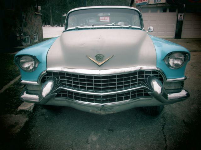 1955 cadillac de ville california car low rider project car rat barn find for sale cadillac. Black Bedroom Furniture Sets. Home Design Ideas