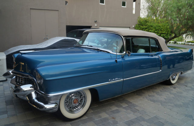 1955 cadillac series 62 convertible fully restored 55. Black Bedroom Furniture Sets. Home Design Ideas