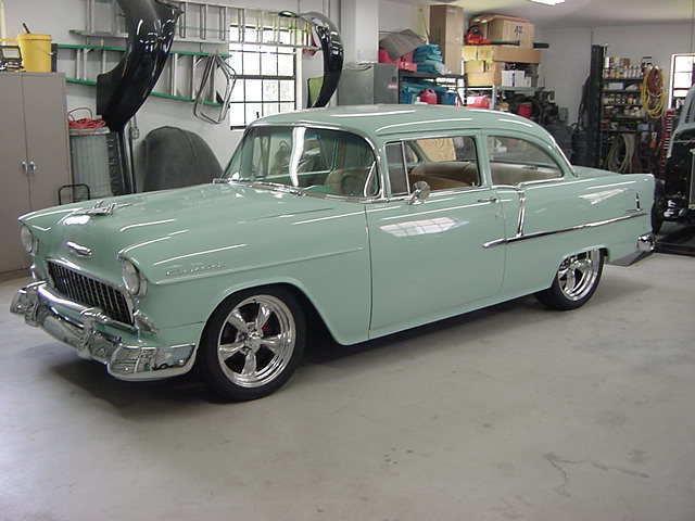 1955 chevrolet 210 2 door classic rod street machine 1950s