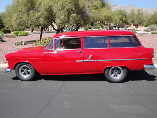 1955 chevrolet 210 2 door ls3 powered station wagon for Mini Speakers for iPod Wireless Speakers for Tablets