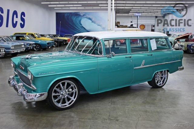 1955 chevrolet 210 4 door station wagon 350 350 for sale for 1955 chevy 4 door wagon