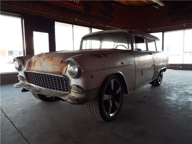 1955 chevrolet 210 handy man wagon 21 854 miles 2 door 350 for 1955 chevy 2 door wagon for sale