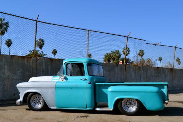 1955 chevrolet 3100 big window truck camaro clip 4 link for 1955 chevy big window for sale