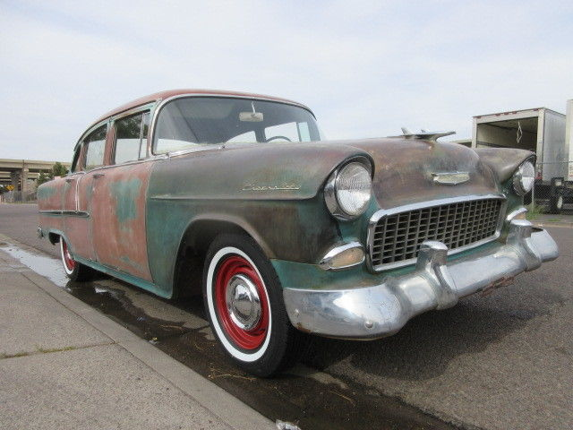 1955 chevrolet 4 door 99 9 rust free arizona original for 1955 chevy 4 door for sale