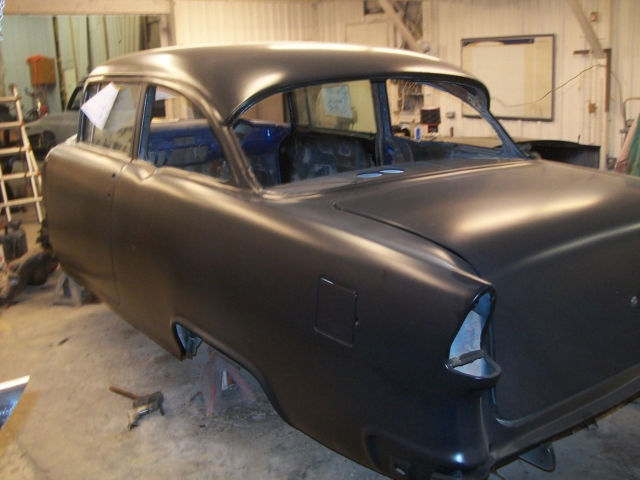 1955 Chevrolet 4 To 2 Door Post Conversion Car For Sale