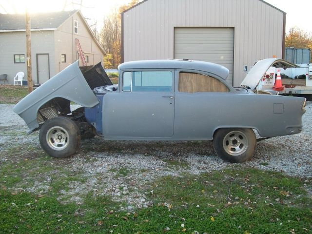 1955 chevrolet 4 to 2 door post conversion car for sale - Chevrolet