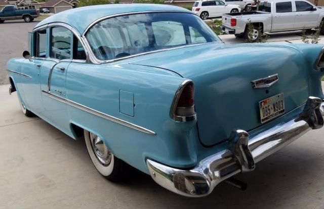 1955 chevrolet bel air 4 door 3 spd in colum original 6 for 1955 chevy bel air 4 door for sale