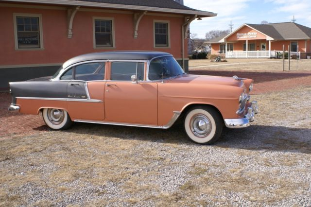 1955 chevrolet bel air 4 door for sale chevrolet bel air
