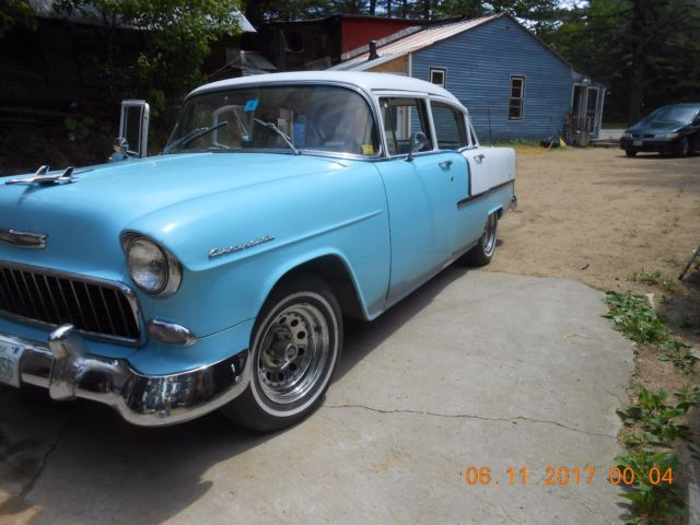 1955 chevrolet bel air 4 door sedan for sale chevrolet for 1955 chevy bel air 4 door for sale
