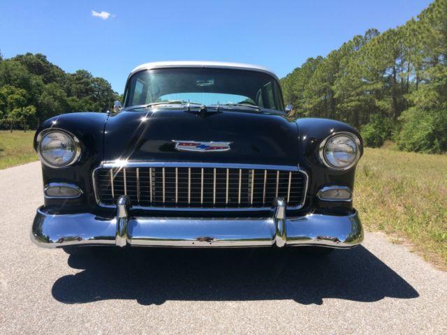 1955 Chevrolet Bel Air - 55 Chevy Pro Street - Black