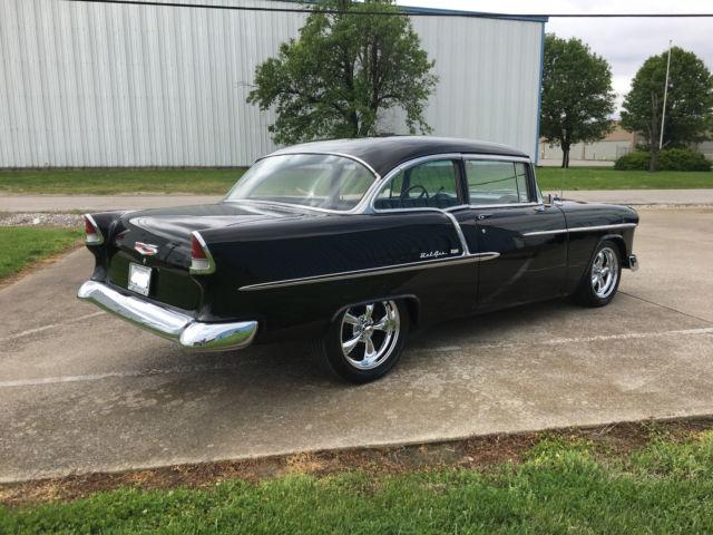 1955 chevrolet bel air big block 454 v8 2 door sedan restored tri five for sale chevrolet. Black Bedroom Furniture Sets. Home Design Ideas