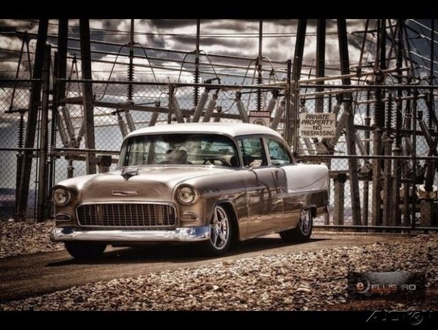 1955 Chevrolet Bel Air Custom Frame Off 98 LS1 eng w/ Comp