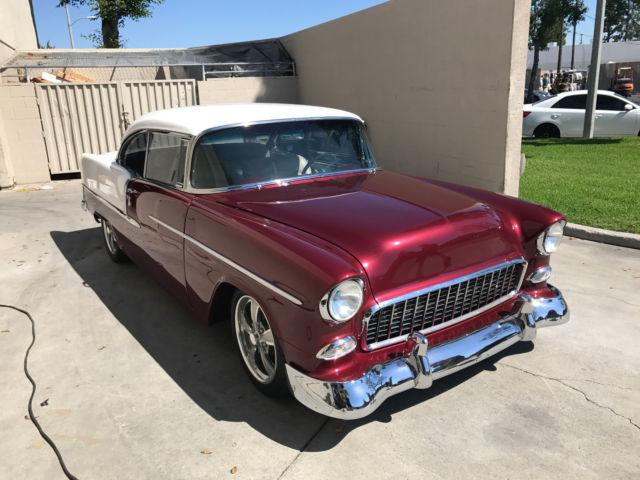 1955 chevrolet belair hardtop 2 door c4 suspension pro for 1955 chevy belair 2 door hardtop for sale