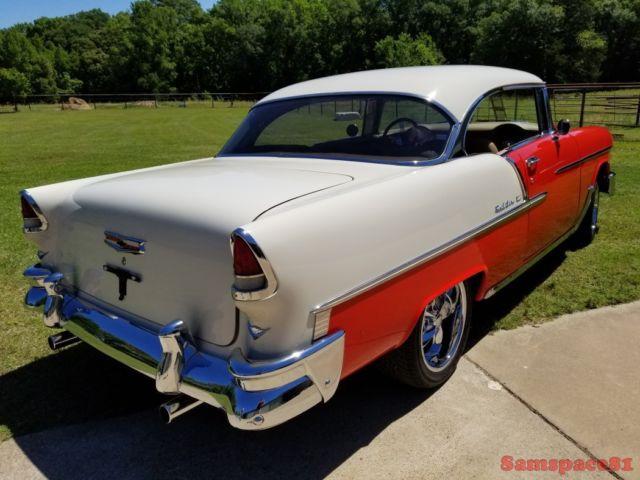 1955 Chevrolet Belair Two Door Hardtop Custom Street Rod Tri Five Chevy For Sale Chevrolet