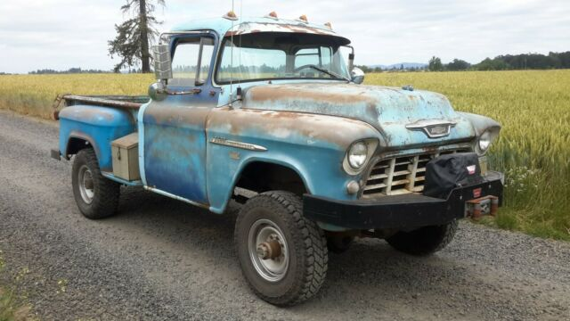 1955 Chevy 1-Ton Napco 4X4 for sale - Chevrolet Other Pickups 3800