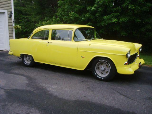 1955 chevy 2 door post 355 4 speed custom interior nice for 1955 chevy belair 2 door post for sale