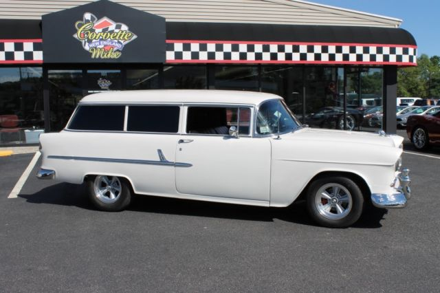 1955 Chevy B210 Wagon Zz4 Crate Engine For Sale