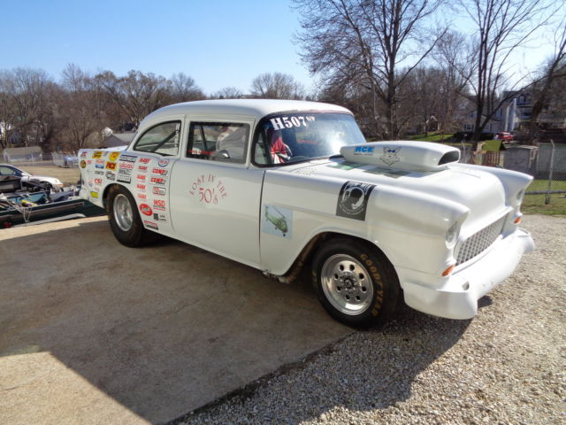 1955 chevy bel air gasser tri 5 race drag car rat rod hot rod for sale chevrolet bel air. Black Bedroom Furniture Sets. Home Design Ideas