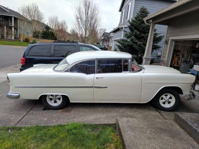 1955 chevy belair 2 door hardtop 327 engine dual for 1955 chevrolet 2 door hardtop for sale