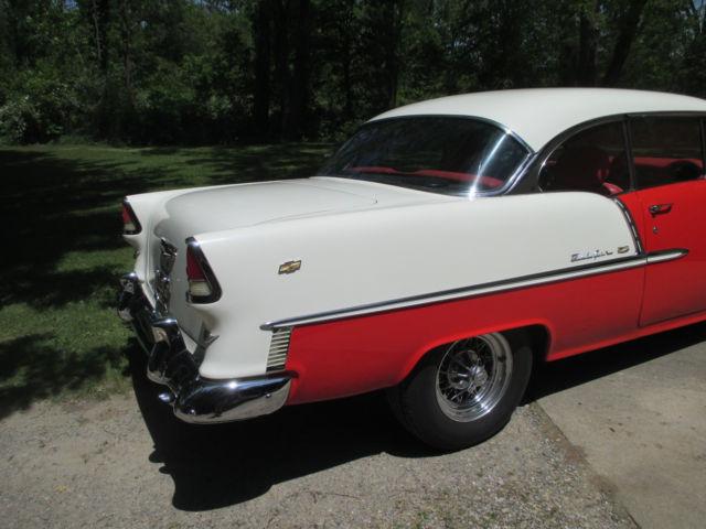 1955 chevy chevrolet bel air two door hardtop coupe 350 v8 for 1955 chevy belair 2 door hardtop for sale
