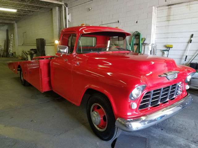 1955 chevy ramp truck for sale chevrolet c k pickup 3500 c 3500 1955 for sale in euclid ohio. Black Bedroom Furniture Sets. Home Design Ideas