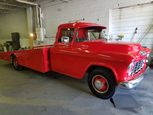 1955 Chevy Ramp Truck for sale - Chevrolet C/K Pickup 3500 C 3500 1955 for sale in Euclid, Ohio