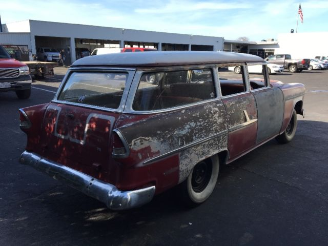 1955 Chevy Wagon Gasser Hot Rod Rat Rod Patina For Sale