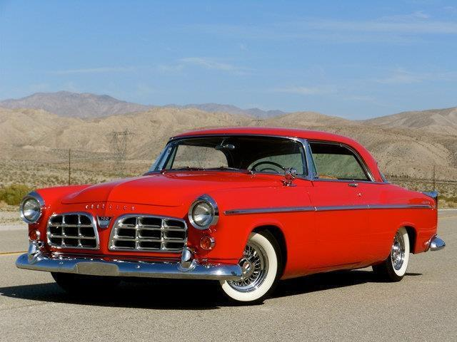 1955 chrysler 300 c 35 500 miles red coupe 331 cu in 5 4l. Black Bedroom Furniture Sets. Home Design Ideas