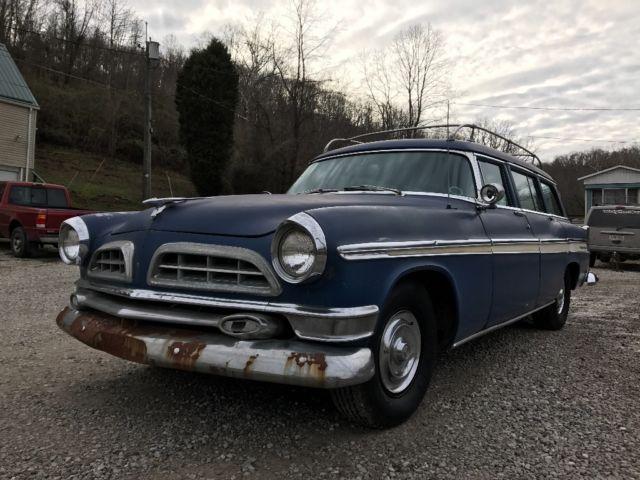 1955 chrysler new yorker hemi wagon for sale chrysler. Black Bedroom Furniture Sets. Home Design Ideas