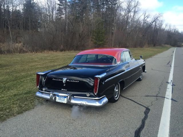 1955 chrysler windsor deluxe 2 door hardtop for sale. Black Bedroom Furniture Sets. Home Design Ideas
